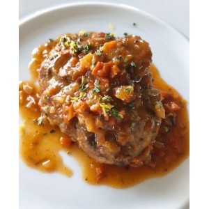 Ossobuco di vitello in gremolata